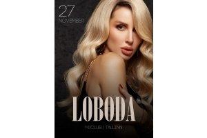 LOBODA выступит в Таллинне 27 ноября 2021 года!